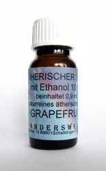 Ethereal fragrance (Ätherischer Duft) ethanol with grapefruit