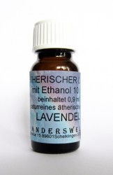 Ethereal fragrance (Ätherischer Duft) ethanol with lavender