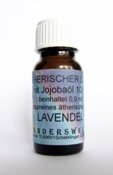 Ethereal fragrance (Ätherischer Duft) jojoba oil with lavender