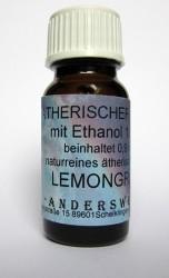 Ethereal fragrance (Ätherischer Duft) ethanol with lemongrass