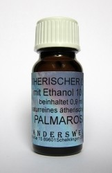 Ethereal fragrance (Ätherischer Duft) ethanol with palmarosa