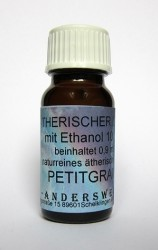 Ethereal fragrance (Ätherischer Duft) ethanol with petitgrain