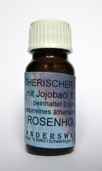 Fragranza etereo (Ätherischer Duft) olio di jojoba con palissandro