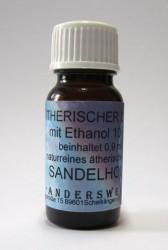 Ethereal fragrance (Ätherischer Duft) ethanol with sandalwood