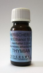 Ethereal fragrance (Ätherischer Duft) ethanol with thyme