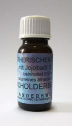 Fragranza etereo (Ätherischer Duft) olio di jojoba con ginepro