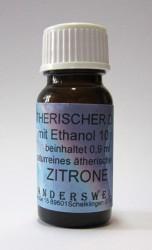 Parfum éthéré (Ätherischer Duft) éthanol avec citron