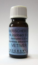 Fragranza etereo (Ätherischer Duft) olio di jojoba con vetiver