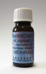 Parfum éthéré (Ätherischer Duft) huile de jojoba avec encens