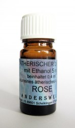 Ethereal fragrance (Ätherischer Duft) ethanol with rose absolue