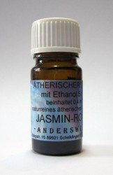 Ethereal fragrance (Ätherischer Duft) ethanol with jasmine-rose absolue