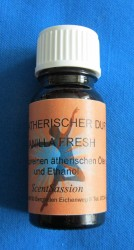 Car fragrance with natural oils Vanilla Fresh 10ml