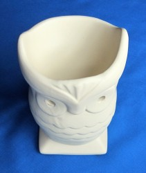 Oil Burner Owl beige