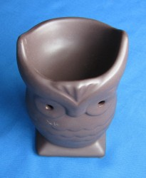 Oil Burner Owl brown