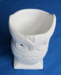 Oil Burner Owl white