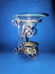 Oil Burner half moon metal