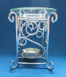 Oil Burner square metal