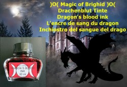 Magic of Brighid Encre de sang de dragons