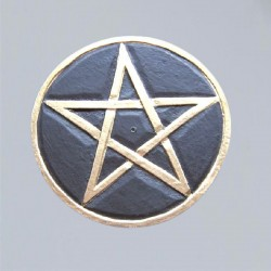 Incense Stick Holder with Pentacle