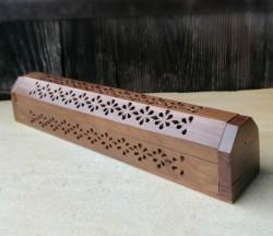 Porte-bâtons d'encens Boîte en bois