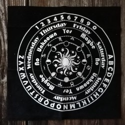 Tissu pour pendule soleil lune