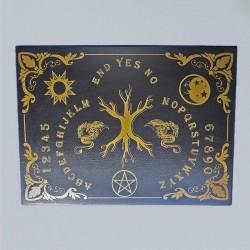 Tavola Ouija Albero della vita (Yggdrasil) inglese