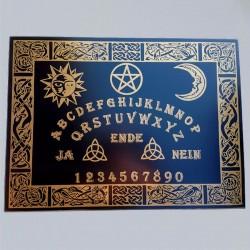 Tavola Ouija motivo celtico, tedesco