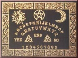 Witchboard Celtic black (Ouija Board) Second Quality, english