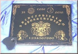 Witchboard Gothic Bat (Ouija Board) german