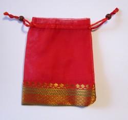 Organza bag large, assorted 5 pcs.