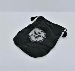 Velvet pouch Pentagram