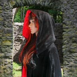 Reversible Ritual Robe Black/Red