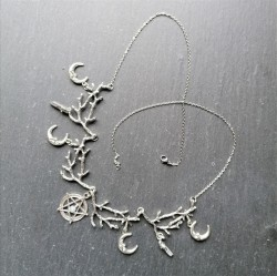 Collier Wicca avec pentagramme