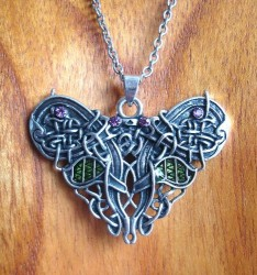 Necklace Celtic Butterfly