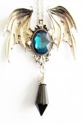 Pendant Gothic Vampire with chain