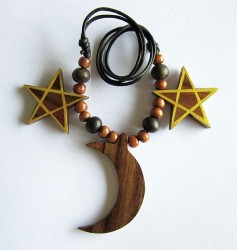 Collier Pentacle - Lune