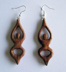 Earring Goddes - pair