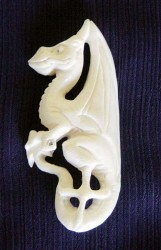 Pendant Celtic dragon