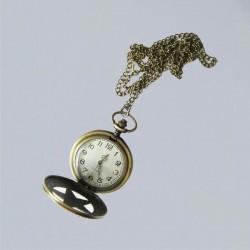 Orologio da tasca Pentagram Wicca, vittoriano, gotico, Steampunk