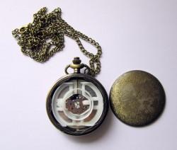 Pentagram Wicca, Victorian, Gothic, Steampunk pocket watch