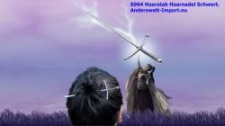 Bastone per capelli, forcina per capelli spada
