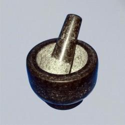 Mortaio di granito con pestello