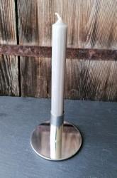 Kerzenständer einfach Metall verchromt