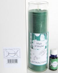 Magic of Brighid Jar Candle Set Attraction