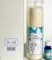 Magic of Brighid Glaskerzen Set Aura Cleaning