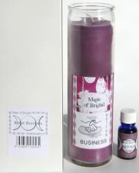 Magic of Brighid Set di candele di vetro Better Business