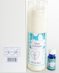 Magic of Brighid Glaskerzen Set Emotional Healing