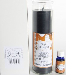Magic of Brighid Set di candele di vetro For Grounding