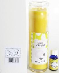Magic of Brighid Glaskerzen Set Magnet