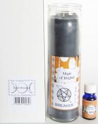 Magic of Brighid Set di candele di vetro Spell Breaker